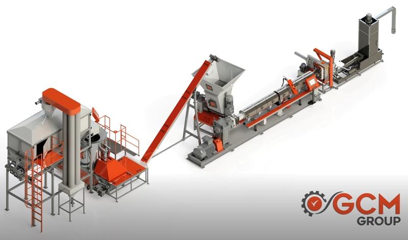 Granül Hattı - GCM Makina