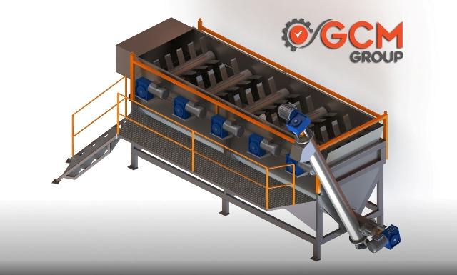 Plastik Yıkama Ayrıştırma Tankı - GCM Makina
