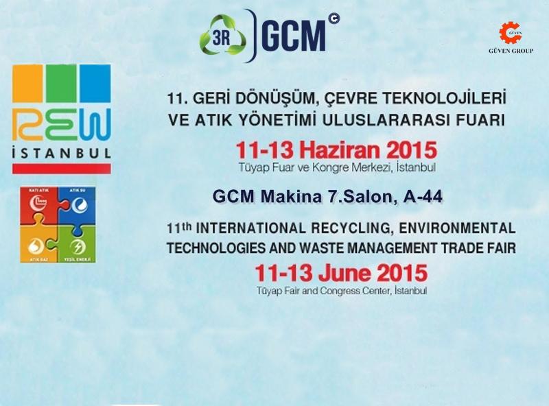 Rew  - GCM Makina