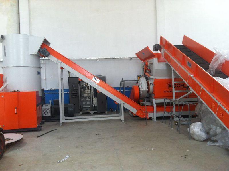Plastik Shredder Makinası- Parçalayıcı T serisi - GCM Makina