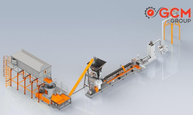 Plastik Agromel Makinası - GCM Makina