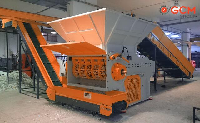Plastik Shredder Makinası - Parçalayıcı - GCM Makina