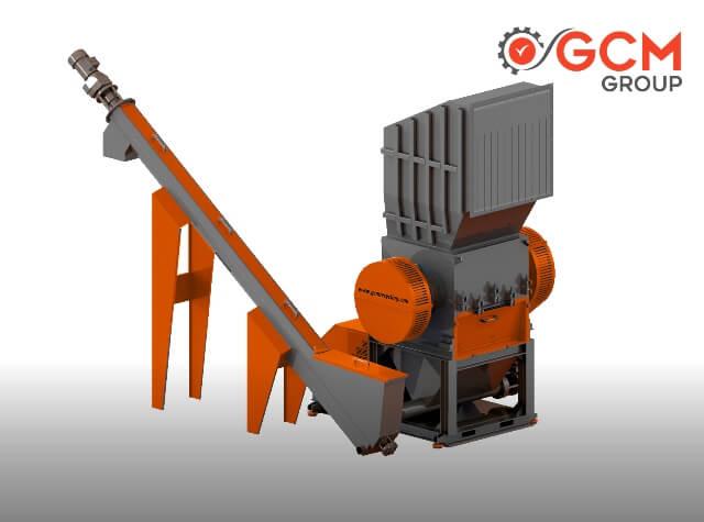 Plastik Kırma Makinası - GCM Makina